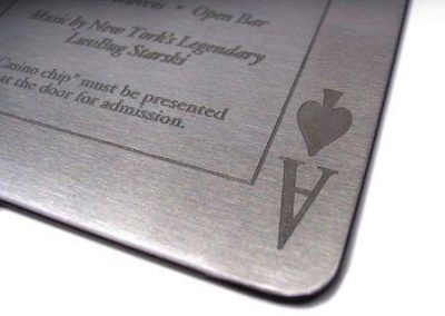 Chemical Etching on Stainless Steel