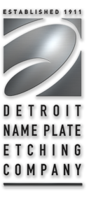 Detroit Name Plate