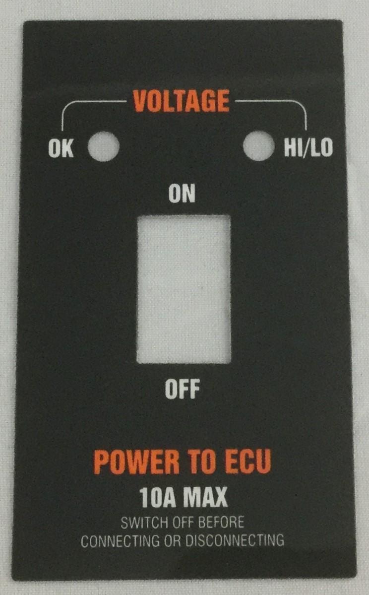 Color printing ecu - Control Panel