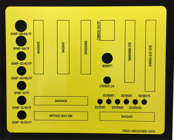 Control Panels | Nameplates, Metal Tags and Laser Cutting