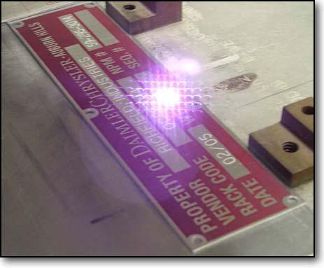 Laser Engraving Nameplates Metal Tags And Laser Cutting