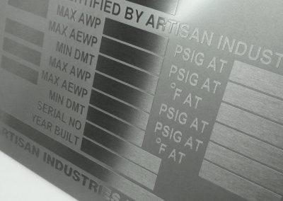 ASME Plate